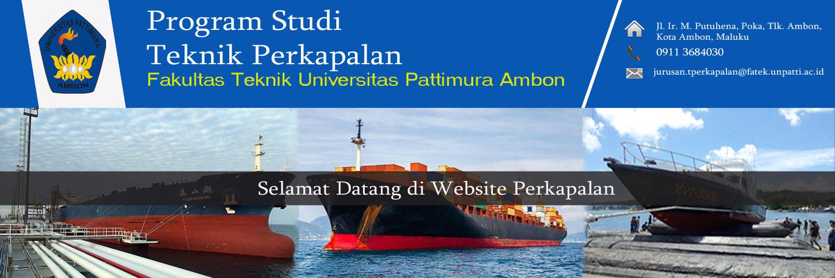 Program Studi Teknik Perkapalan
